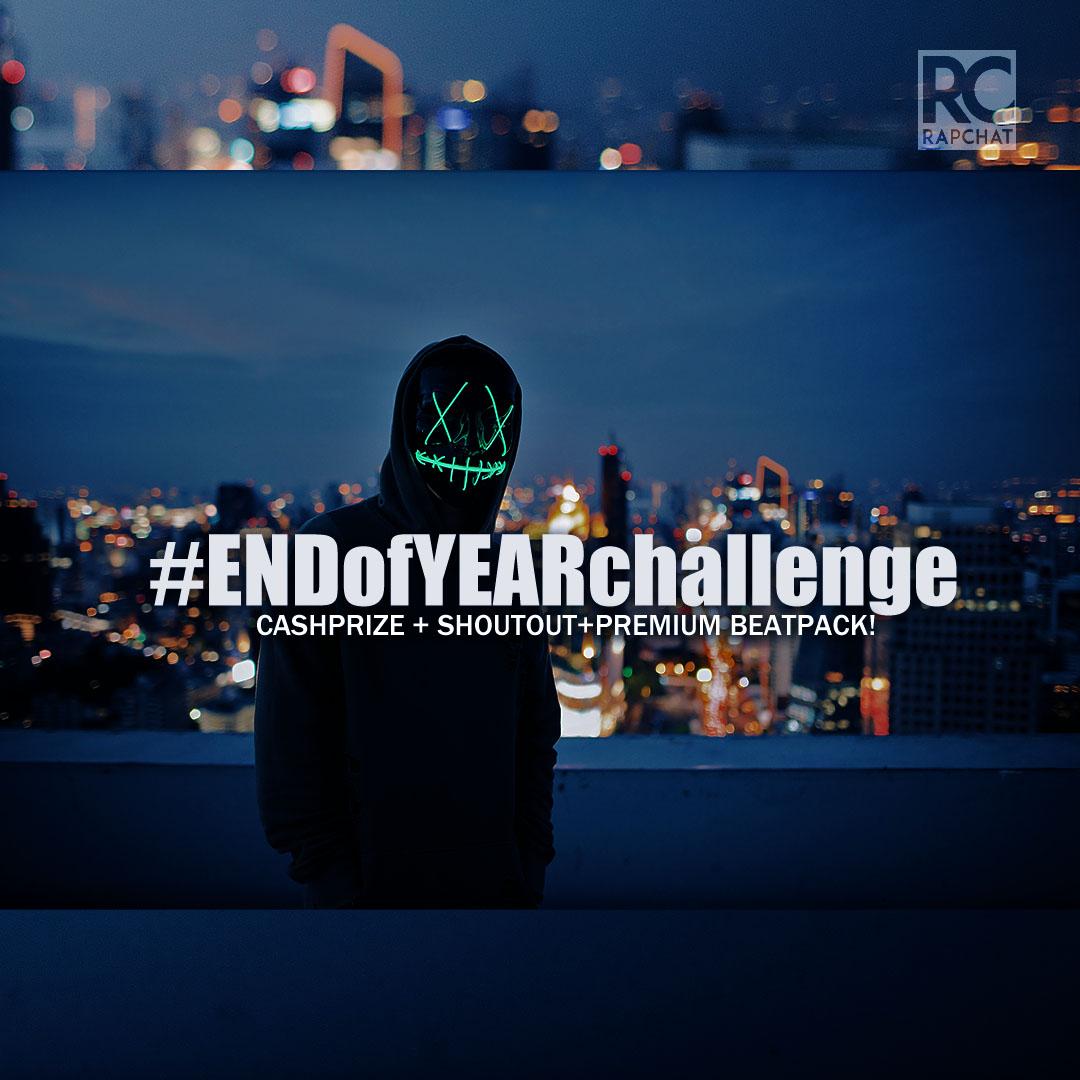 #EndOfYearChallenge Graphic