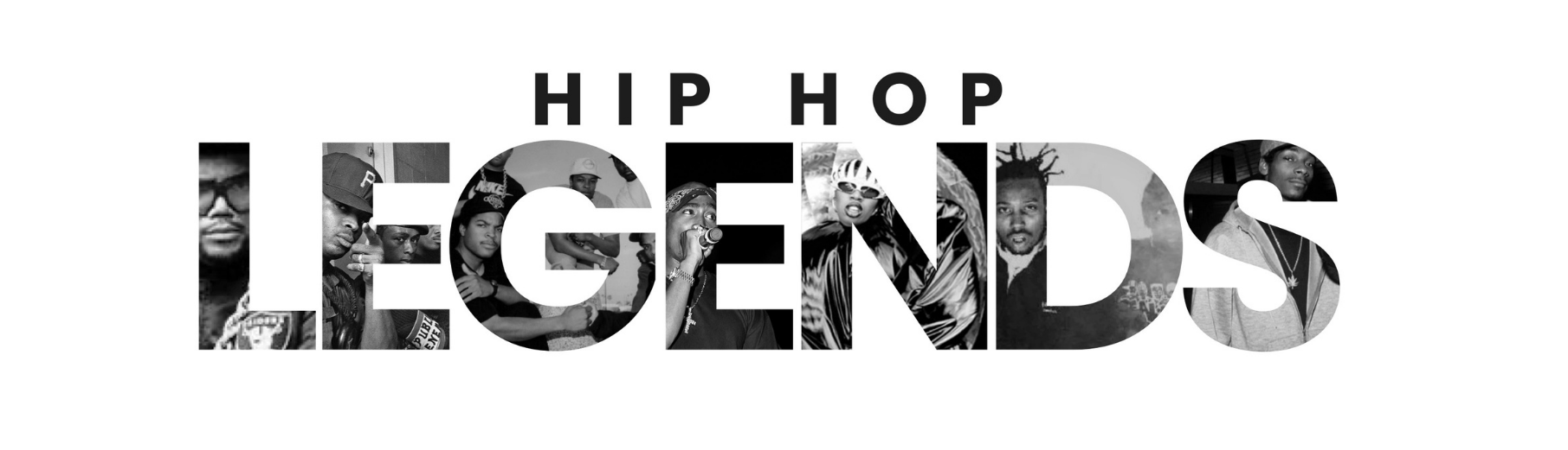 #HipHopLegends Graphic